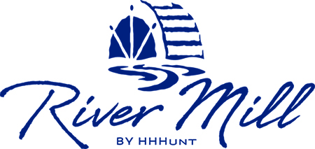 Logo for River Mill by HHHunt.