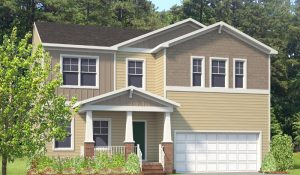 HHHunt Homes single-family home in Granite Falls of Raleigh, NC.