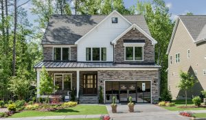 HHHunt Homes two-story home in Cary, North Carolina.