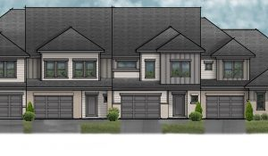 Wescott townhomes with garages