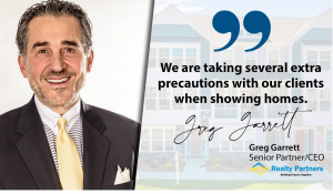 Man with quote for Greg Garrett Realty Partners