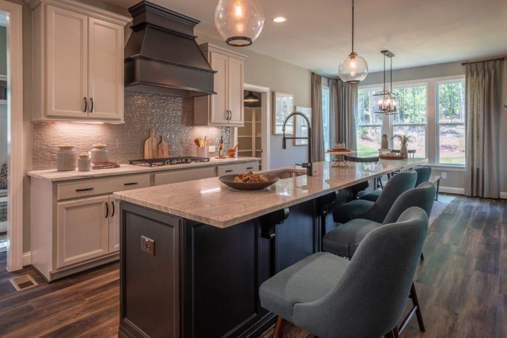 Gourmet Kitchen by HHHunt Homes at Granite Falls Estates